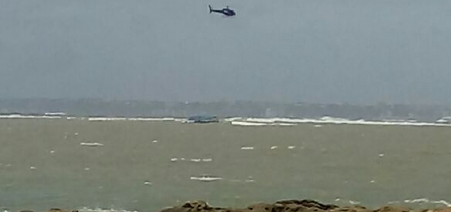 Embarcação fica à deriva em Mar Grande; barco não teria passageiros