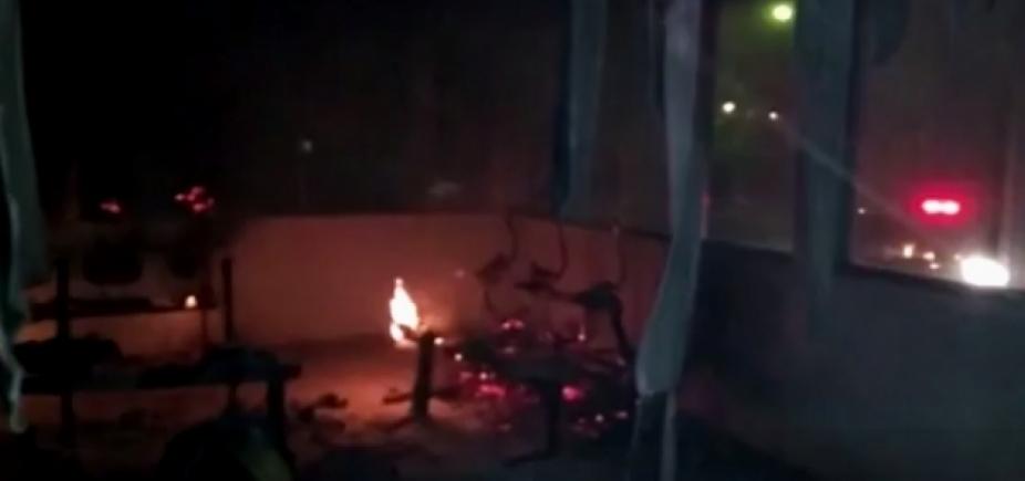 Criminosos depredam e incendeiam posto de saúde em Ubaíra