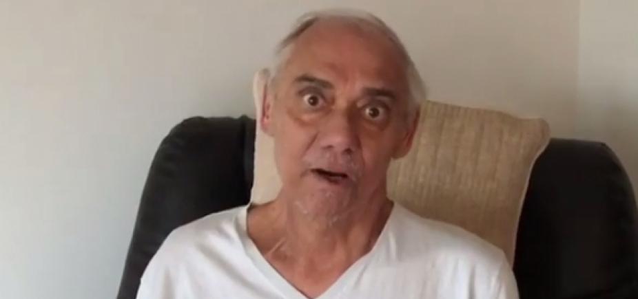 """Guerreiro! Marcelo Rezende faz vídeo para desmentir boatos: """"Estou firme"""""""