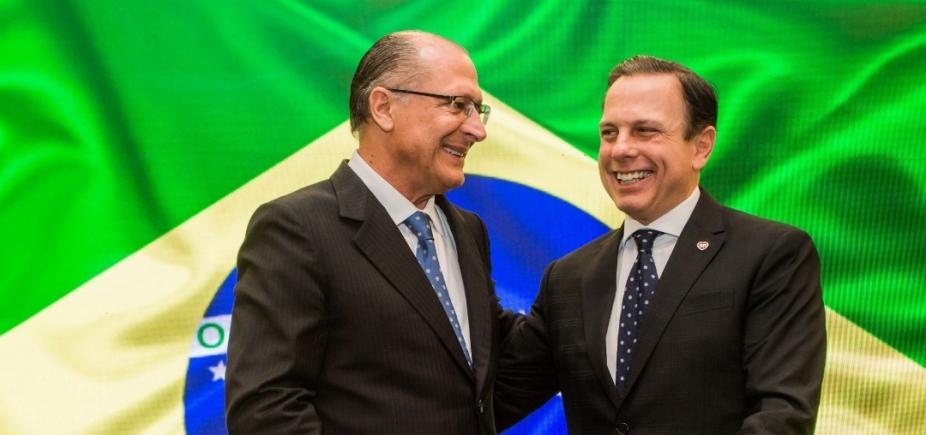 """Alckmin alfineta Doria e diz que \""""novo é falar a verdade\"""""""