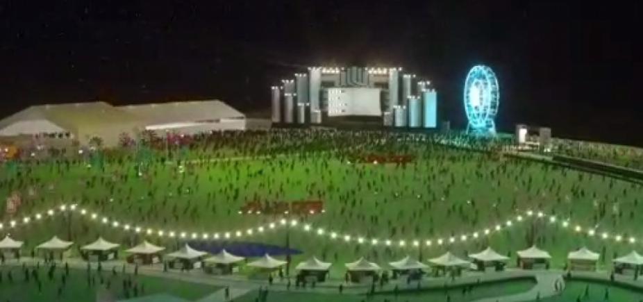 Festival Virada Salvador: vídeo mostra como será réveillon na orla da Boca do Rio