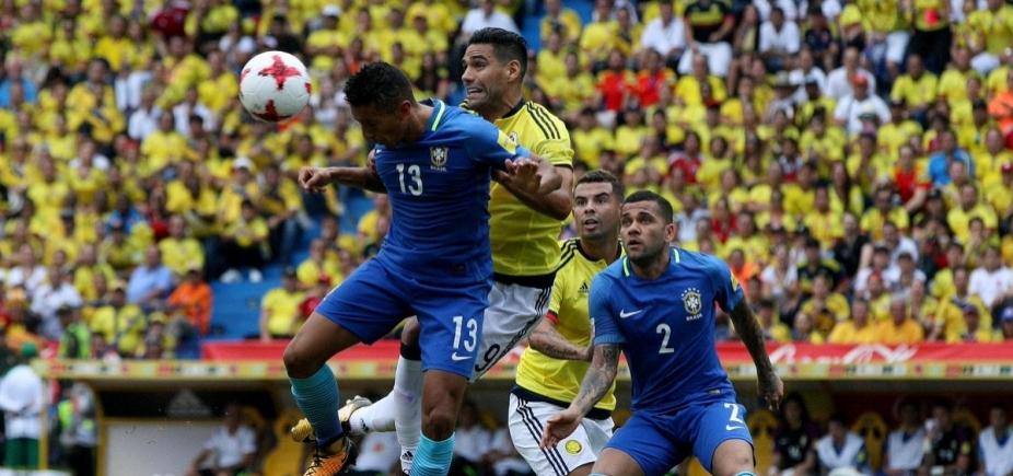 Com golaço de Willian, Brasil empata com a Colômbia em 1 a 1