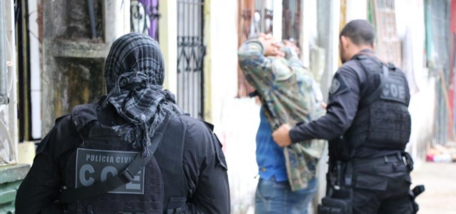 Operação da COE localiza suspeito de tráfico na Prainha do Lobato