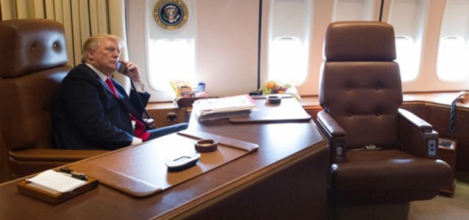 """""""Certamente uma opção"""", diz Trump sobre ação militar contra Coreia do Norte"""