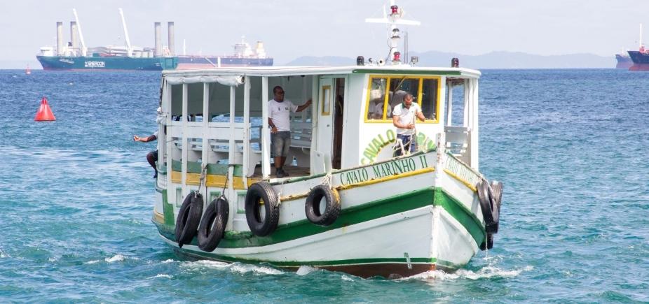Suspensa por maré baixa, travessia Salvador-Mar Grande retorna às 12h
