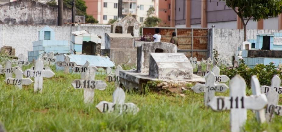 """Cemitérios das ilhas de Salvador não serão ampliados: \""""480 vagas dentro da cidade\"""""""