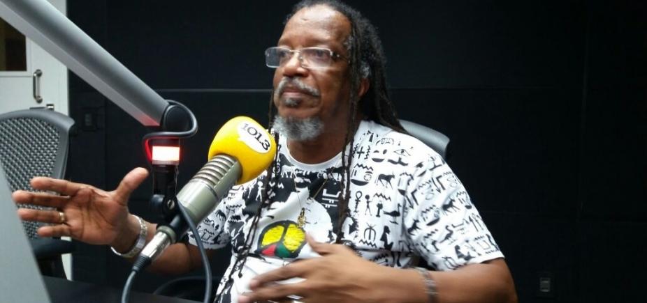 """Presidente do Olodum critica ausência do bloco afro no Réveillon de Salvador: """"Não se justifica"""""""
