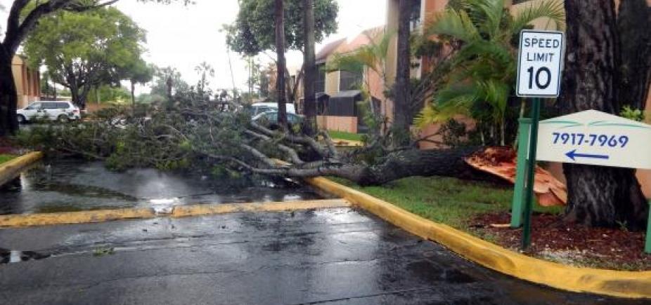 Primeiras chuvas associadas ao Furacão Irma são registradas em Miami