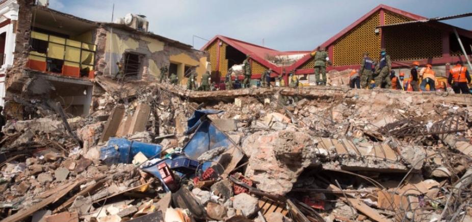 Número de mortos em terremoto no México sobe para 61; mais de 250 pessoas estão feridas