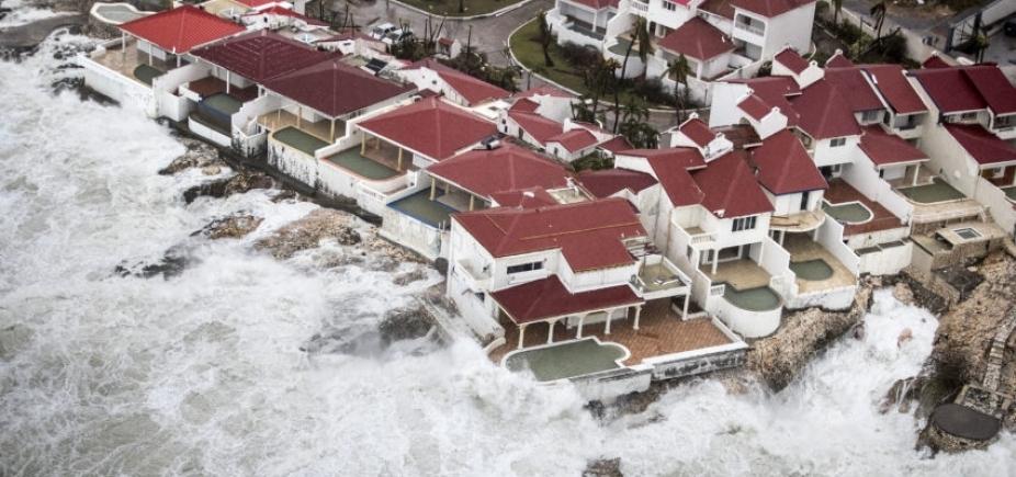 Tempestades do Irma começam a atingir o sul da Flórida