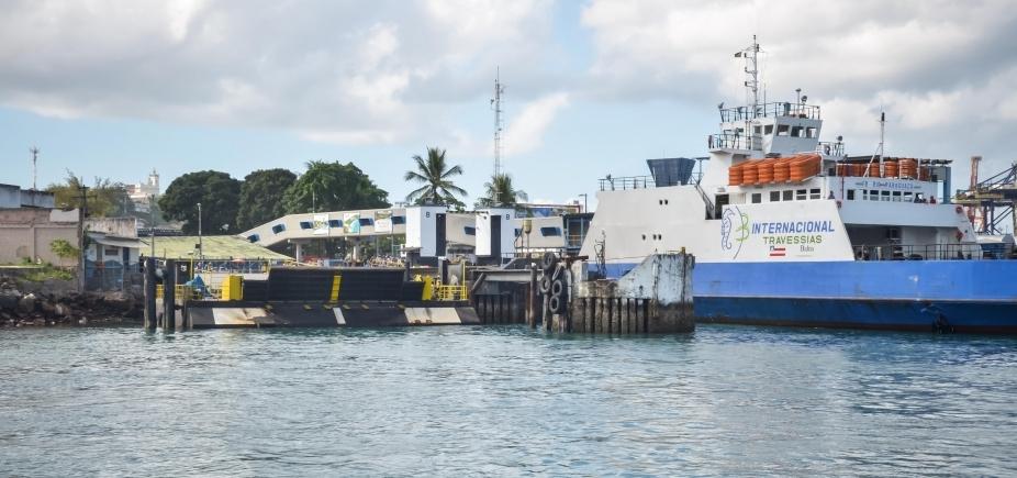 Apesar do feriado, sistema Ferry-Boat tem fluxo tranquilo e saída de hora em hora