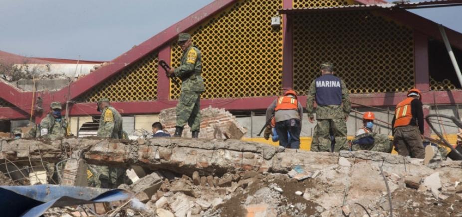 Número de mortos em terremoto no México sobre para 90