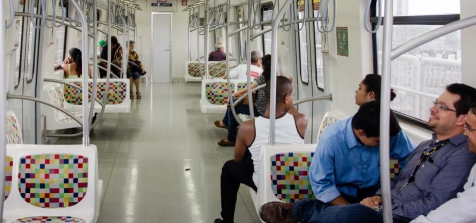 Com quatro novas estações, metrô deve transportar 200 mil passageiros por dia