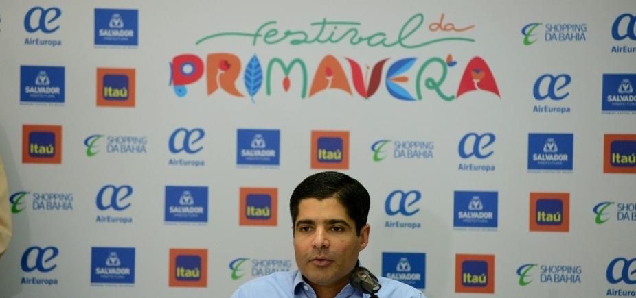 Prefeitura divulga programação do Festival da Primavera de 2017; custo será em torno de R$ 1 milhão
