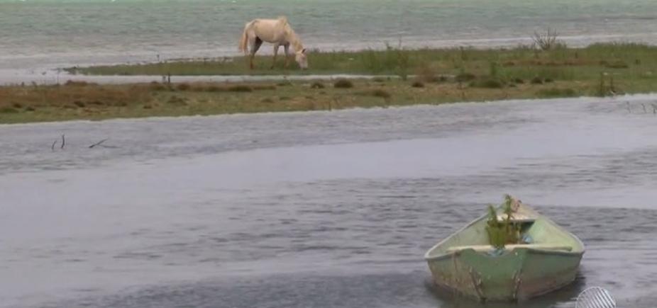 Após longo período de estiagem, nível da barragem de Sobradinho chega a 6,66%