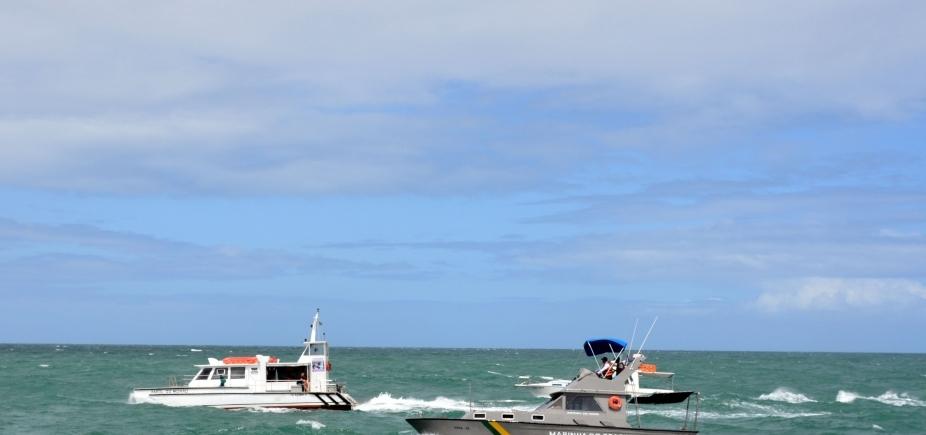 Marinha diz que inquérito será aberto para apurar incidente em Catamarã