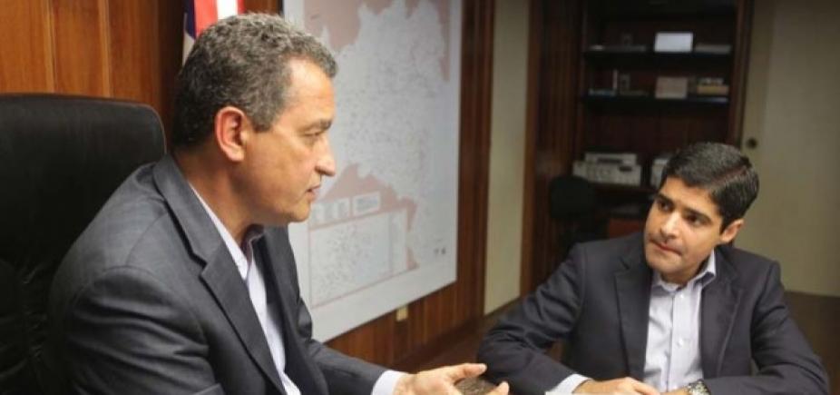 """Rui acusa Neto de impedir obra de estrada em Barreiras: \""""Quer que o povo sofra na lama\"""""""