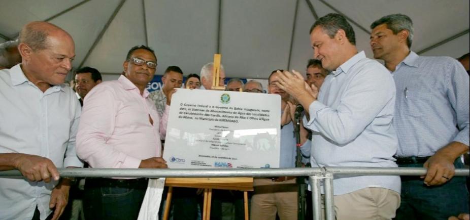 Em Jeremoabo, Rui entrega unidade da Rede SAC que vai beneficiar 150 mil baianos