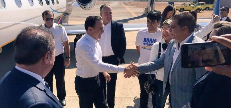 Ministério Púbico investiga viagens de Doria durante expediente na prefeitura