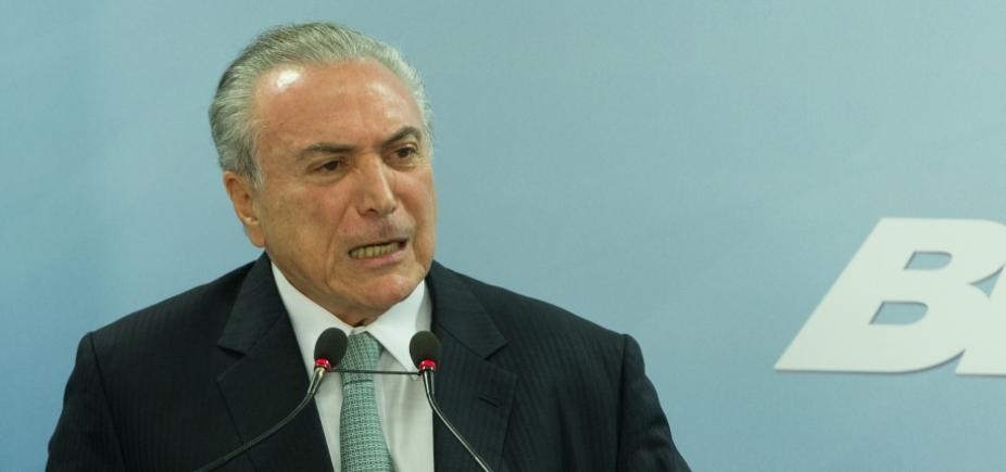 Janot apresenta segunda denúncia contra Michel Temer ao STF
