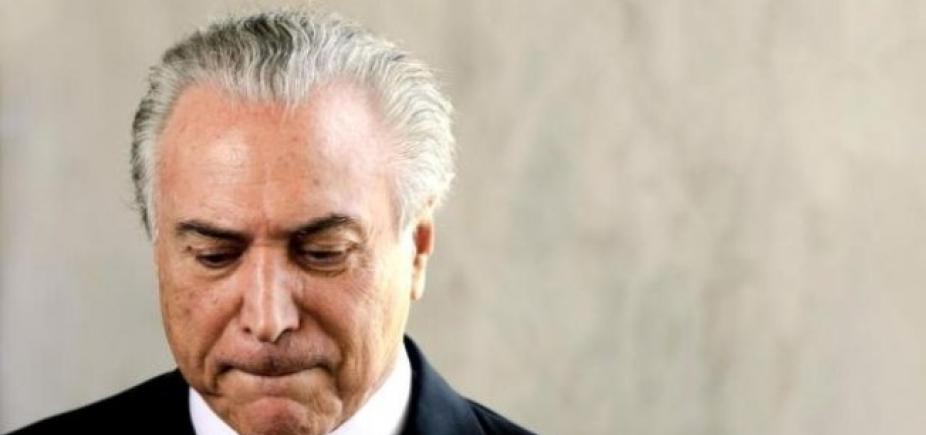 Defesa de Temer protocola pedido de suspensão de denúncia até fim das investigações da delação da J&F