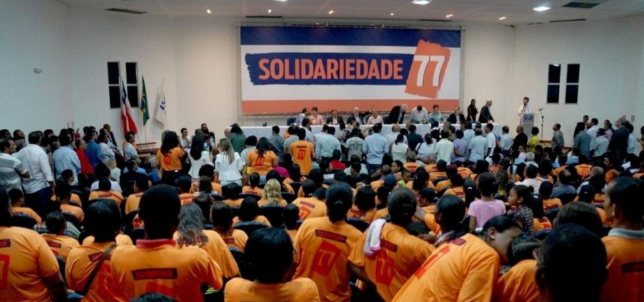 Solidariedade realiza convenção estadual na noite desta sexta-feira