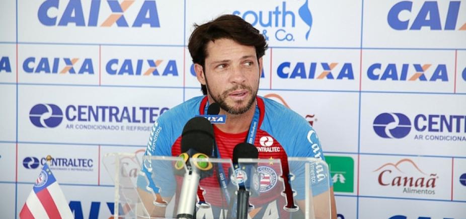 """Preto prefere não avaliar sequência de partidas do Bahia: \""""Gosto de pensar jogo a jogo\"""""""
