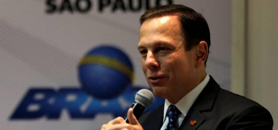 """Após questionamento do MP, Doria dispara: """"Eu pago as minhas viagens, seja no Brasil, seja no exterior"""""""