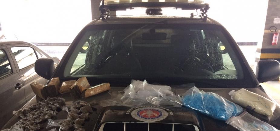 Operação conjunta apreende drogas e captura acusada de tráfico no IAPI