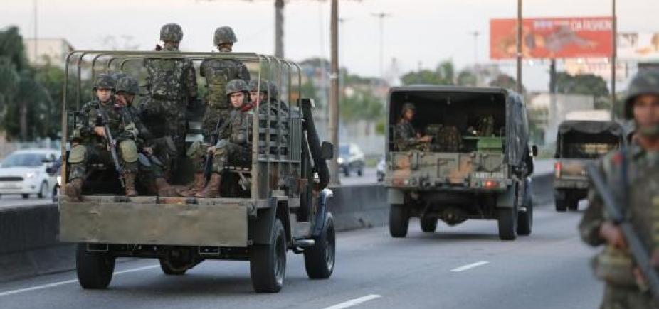Por falta de recursos, ações de segurança das Forças Armadas são suspensas no RJ