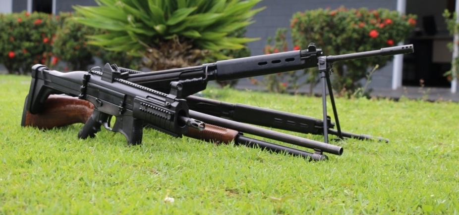 Cresce número de armas apreendidas com quadrilhas de roubo a banco na Bahia