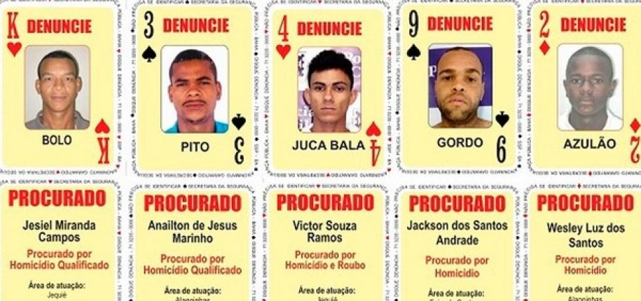 Baralho do Crime tem cinco novos procurados na Bahia; confira nomes