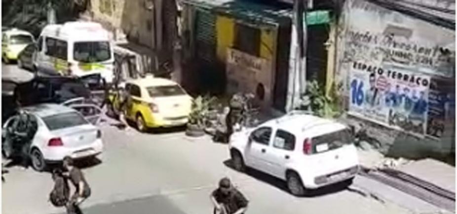Tiroteio leva pânico para favela da Rocinha, no Rio de Janeiro