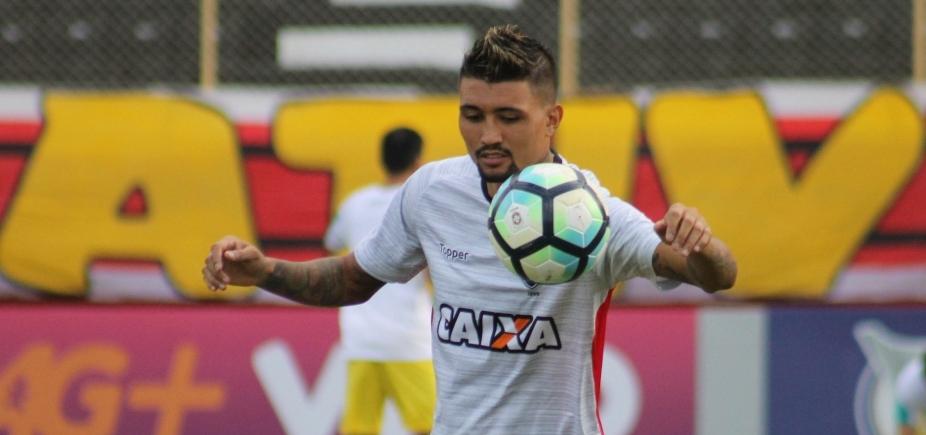 Com Kieza e Patric, Mancini escala o Vitória para enfrentar o São Paulo; confira