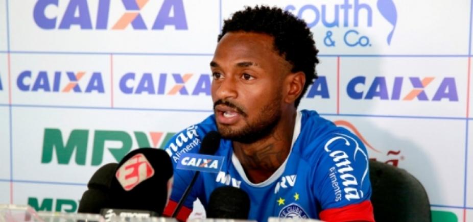 Renê Júnior é vetado de partida contra o Cruzeiro; confira escalação do Bahia