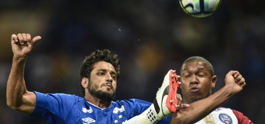 Bahia perde para o Cruzeiro por 1 a 0 fora de casa e segue sem vencer