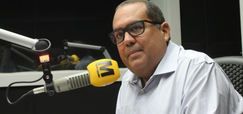 """Régis minimiza atuação de Rui Costa na obra do metrô: \""""Não é 100% do governo\"""""""