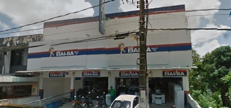 Grupo leva celulares e TVs após invadir loja das Casas Bahia em Candeias