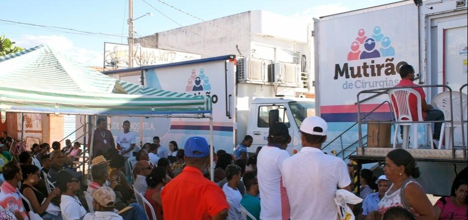 Mutirão de Cirurgias inicia atendimento na região de Ibotirama