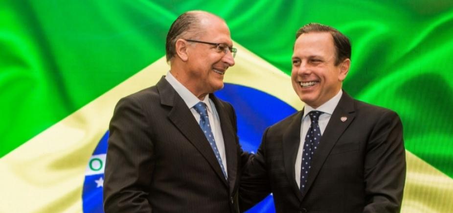 """Doria diz que """"só orixás"""" sabem de 2018, mas garante que não quer """"ferir"""" Alckmin"""