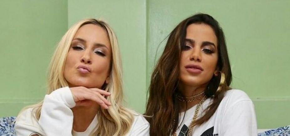 Vai ter feat! Claudia Leitte anuncia parceria com Anitta