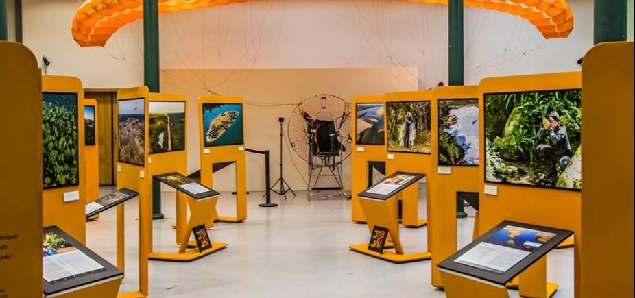 """Exposição \""""Pelos Ares: 15.042 km de Brasil\"""" está em cartaz na Caixa Cultural Salvador; veja"""