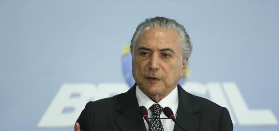 STF retoma julgamento de pedido desuspensão da denúncia contra Temer