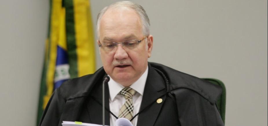 Relator da ação, Fachin vota pelo envio da denúncia contra Temer à Câmara