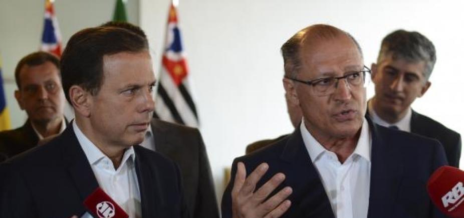 """Alckmin critica articulação de Doria para eleições de 2018: """"Política da improvisação"""""""