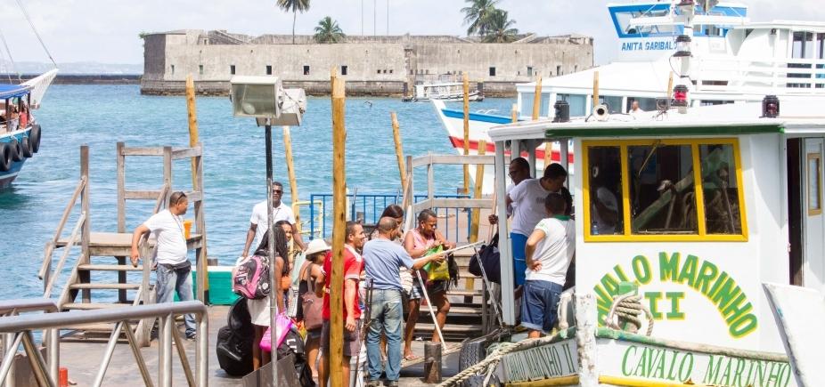 Parada desde as 7h30, travessia Salvador-Mar Grande deve voltar a operar às 11h30
