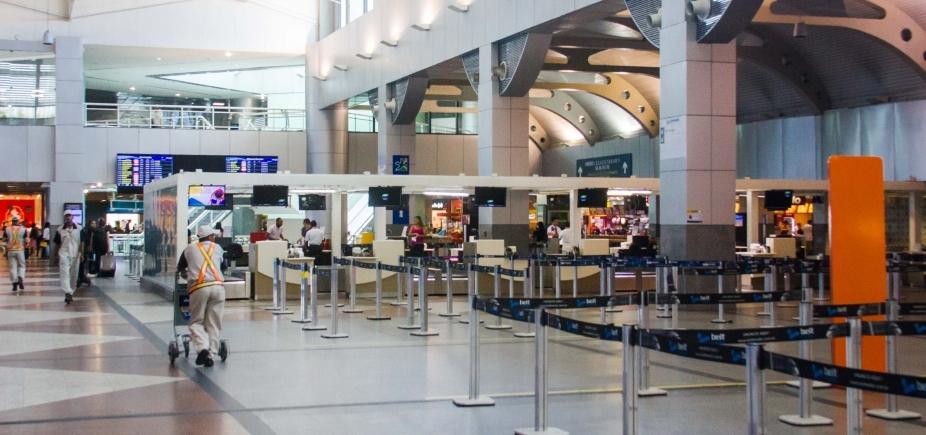 Aeroporto de Salvador deve ter ar condicionado e elevadores melhores até o verão
