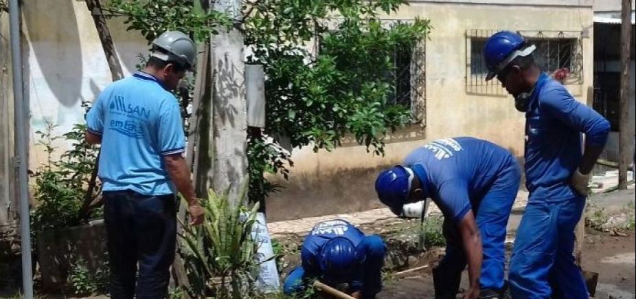 Embasa flagra ligações irregulares em prédios em Cajazeiras; desvio era de 262 milhões de litros