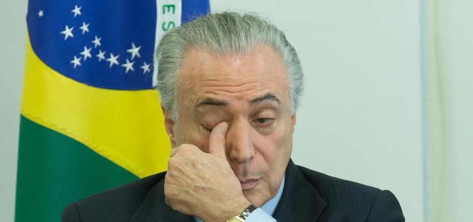 Câmara recebe denúncia da PGR contra Temer; presidente será notificado