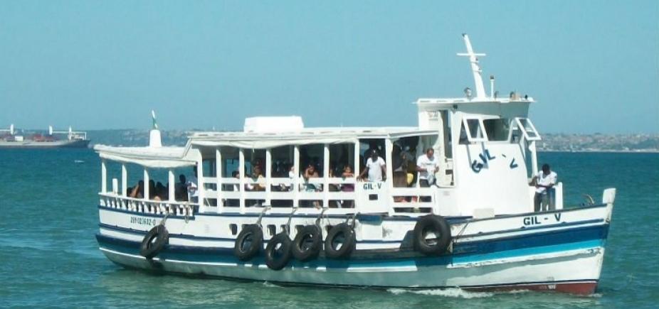 Maré baixa: travessia Salvador-Mar Grande é suspensa até as 12h